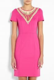 V neck fitted dress by Alice by Temperley - Ooohlala...