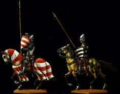 Flat Tin Figures.  Prinz Rudolf series at Crecy. They are 28mm and engraved by  Wolfgang Friedrich. Thanks, Cheli.