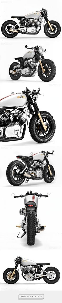 'Buzz Saw' : custom Yamaha Virago