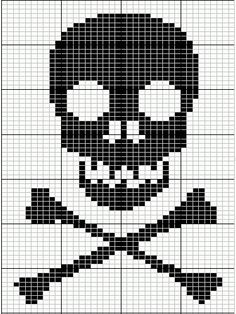 Knitting charts patterns fair isles cross stitch 40 new ideas Knitting Charts, Knitting Stitches, Knitting Patterns, Crochet Patterns, Free Knitting, Simple Knitting, Sock Knitting, Vintage Knitting, Crochet Skull