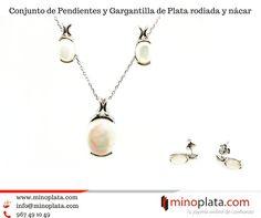 Recomendamos!! Original Conjunto de Pendientes y Gargantilla de Plata de ley con nácar. Una joya moderna y sofisticada... Entrega en 24 horas. Su precio: 7850  Más detalles: http://ift.tt/2vzVMnu  #minoplata #silverjewelry #jewelry #jewelrybrand #gargantilla #pulseras #original #elegant #perfectgift #fashionjewelry #accesorios #accesories #novedades #silver #silverjewelry #jewels #joyas #juegos #pendientes #colgante #necklace #earrings #ring  #cute #elegante #regaloperfecto #complementos…