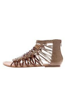 1c3edda94613b Strappy sandal with an open toe