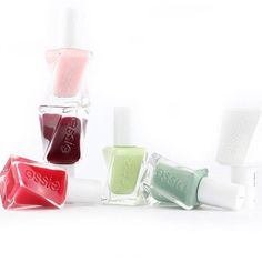 always polished to perfection with essie long wear nail polish gel couture! It's hard to pick just one.