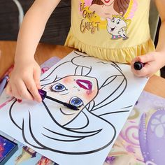 Print out a picture of your favourite princess or draw your own face and use real make-up. Awesome activity for little make-up lovers! Check out our facebook page to find some princess face printables Princess Face, Draw Your, Pictures Of You, Your Favorite, Make Up, Lovers, Printables, Activities, Facebook