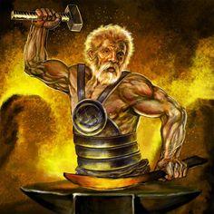 Hephaistos of Vulcanus (Latijn) is een figuur uit de Griekse mythologie. Hij is de god van de smeedkunst, het vuur en de ambachtslieden en is smid van de goden. Volgens sommige bronnen (Homerus, e.a.) was hij de zoon van Zeus en Hera, volgens anderen (Hesiodus) was hij alleen de zoon van Hera. De Romeinen stelden hem gelijk aan hun god Vulcanus (ook wel Mulciber). Hij was getrouwd met Aphrodite, maar Aphrodite bedroog hem met haar minnaar Ares, de oorlogsgod. Van Ares kree