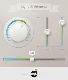 Light UI Controls