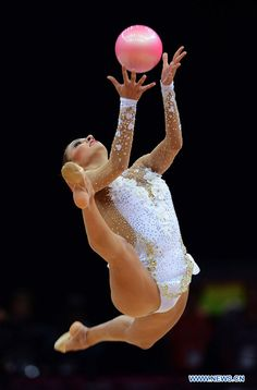JO-2012 - Gymnastique rythmique: la Russe Kanaeva en or