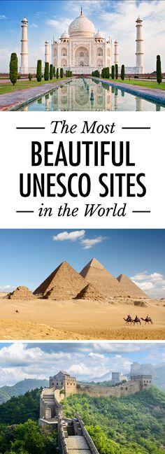 The Most Beautiful UNESCO World Heritage Sites Around the World. #Unesco #travel