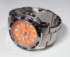 [TimeMob] Relógio Orient Autom. Scuba Diver Poseidon (laranjão) R$498,89 ( *APP SHOPTIME)