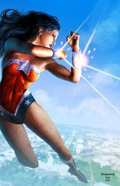 Wonder Woman by Raymund Lee