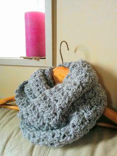 簡単!かぎ針模様編みスヌードの編み方 Crochet and Me かぎ針編みの編み図と編み方