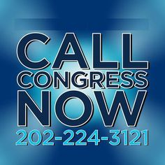 Video, please watch and share!  It's VERY important that you call your senators and congress every single day!