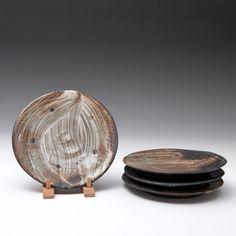 Lisa Hammond  Set of Four Plates