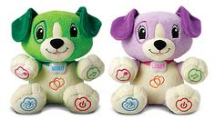 My Pal Scout: Personalize this snuggly interactive puppy by teaching him your child's name and favorite things!