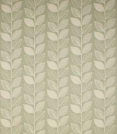Contemporary Leaf Design Fabric <3  http://www.justfabrics.co.uk/curtain-fabric-upholstery/sage-leu-reverse-fabric/