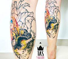 Heart tattoo by Rodrigo Tas