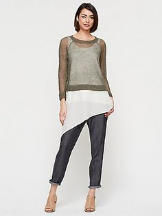 EILEEN FISHER: Texture in the Mix