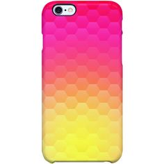 Uncommon Pure Happiness iPhone 6 Plus SS Deflector Case ($29) ❤ liked on Polyvore featuring accessories, tech accessories ve multi