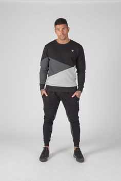 Intense Clothing the UK's leading menswear brand including Tracksuits, T-Shirts, Twin Sets and Hooded Tops Men's Fashion Brands, Sport Fashion, Jd Sports, Crew Neck Sweatshirt, Normcore, Menswear, Sporty, Sweatshirts, Sweaters