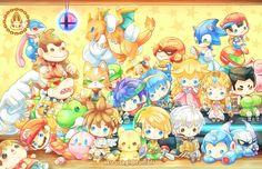 "Super Smash Bros. 11""x17"" print · Aku's shop · Online Store Powered by Storenvy"