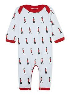 PIXIE DIXIE Marching guards sleepsuit 0-12 months