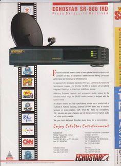 1994 echostar sr800 ird satellite receiver