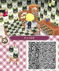 Animal Crossing Cat Pattern | I feel like this is what my Forever Alone science teacher's house looks like...