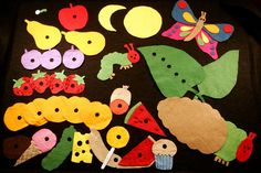 Very Hungry Caterpillar Felt Story | Craftworks (M 372.6049 CRA)