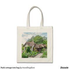 Park cottage tote bag
