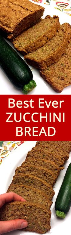 Truly the best ever! Everyone loves this zucchini bread!
