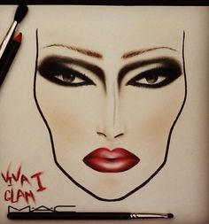 MAC face charts are the best
