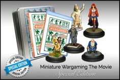 Miniature Wargaming the Movie Special Edition DVD and Miniatures