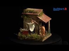 Carnicero 10 cm. movimiento belén   venta online en HOLYART