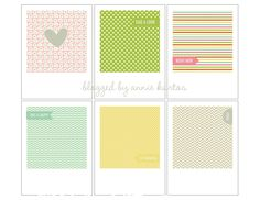 project life digital journaling cards | project life polaroid journaling cards