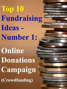 Looking for the BEST Fundraising Ideas? Well here are the Top 10 Fundraising Ideas you could use. This being number one - The Online Donations Fundraiser (Crowdfunding). Quick & simple to setup, with big funding potential. And used successfully by thousands of people. Read all 10 ideas here: www.rewarding-fundraising-ideas.com/top-10-fundraising-ideas.html (Photo by Sharon Drummond / Flickr)
