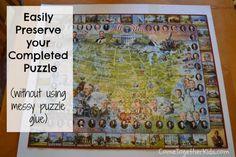 puzzle saving techniques, puzzle saver