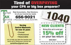 Sartell Tax Service