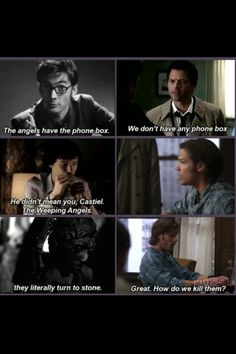 Superwholock - the further I get into Supernatural the more sense this would make as a serious crossover :)
