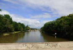 """Brücke über die """"Elster"""", Leipzig - Foto: S. Hopp"""