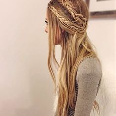 Major braid stay! Sunset Blonde inspiration  Soooo pretty!!!!!!! Email us for…