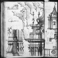 난간과 작은 탑의 세