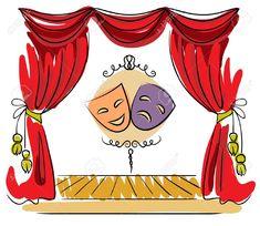 Las Mejores 16 Ideas De Dibujos De Teatro Dibujos De Teatro Carteles De Lectura Dibujos