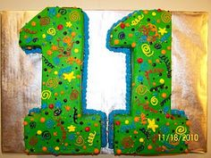 Cakes by Kristen H.: Number 11 Cake