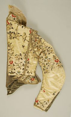 Doublet Date: 1600 Culture: European, Eastern Medium: silk Dimensions: Height: 22 in. 17th Century Clothing, 17th Century Fashion, 16th Century, Clothing And Textile, Antique Clothing, Historical Costume, Historical Clothing, Elizabethan Clothing, Beautiful Outfits