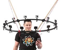 360 Degree Selfie Camera Rig