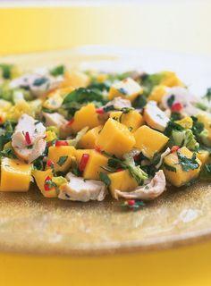 Chicken, Mango and Chilli Salad