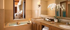 The Resort at Pelican Hill Bungalow bath