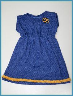 Refashioned Knit Peasant Dress