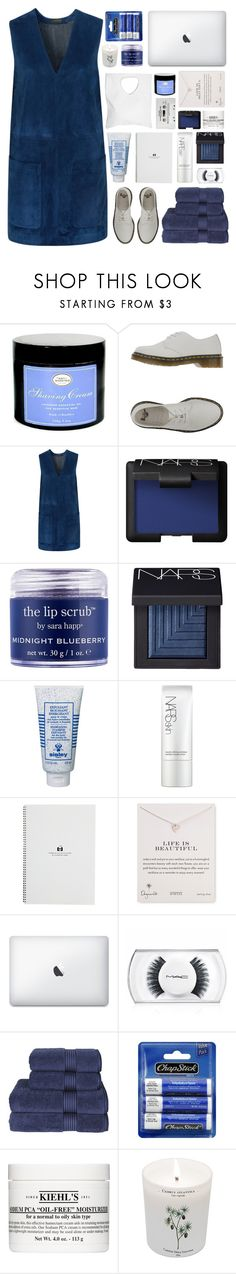 """""""i can't be no one else"""" by acquiescence ❤ liked on Polyvore featuring Dr. Martens, Belstaff, NARS Cosmetics, Sara Happ, Sisley, Dogeared, MAC Cosmetics, Christy, Chapstick and Kiehl's"""