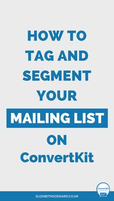 Learn how to segment your email list and learn how to tag your email list in ConvertKit. Click through to read my ConvertKit tutorial on setting up email automation rules in ConvertKit. Service based business | starting a business | entrepreneur tips | business tools | email marketing automation | how to use ConvertKit | newsletter tips